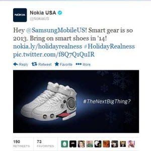 Nokia US y Samsung Mobile US se pelean en Twitter después de que Nokia se burlara de Samsung [Updated]