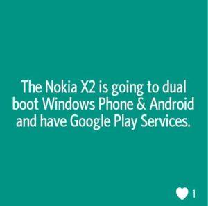 Nokia X2 puede arrancar Windows Phone y Android de forma dual