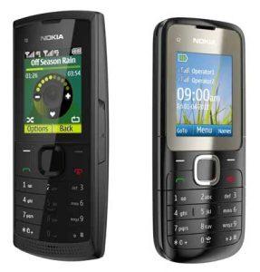 Nokia anuncia dos nuevos teléfonos de nivel de entrada, el X1-01 y el C2-00