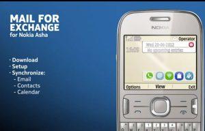 Nokia anuncia la aplicación Mail for Exchange para teléfonos Asha
