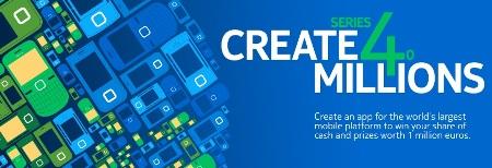 """Nokia anuncia la competencia de desarrollo de aplicaciones llamada """"Create for Millions"""""""