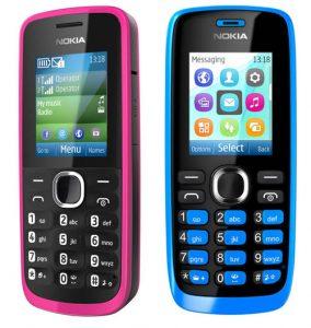 Nokia anuncia los teléfonos con funciones Nokia 110 y 112
