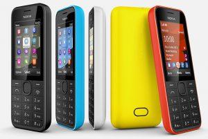 Nokia anuncia teléfonos 207, 208 y 208 Dual SIM 3G por $ 68