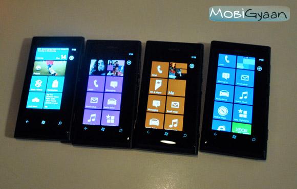 Práctica de Nokia Lumia 800 y Lumia 710 [Pictures]