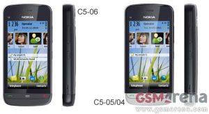 Nokia lanza C5-05 y C5-06, versión más económica de C5-03
