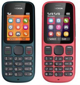 Nokia lanza el 100 y el 101 en India