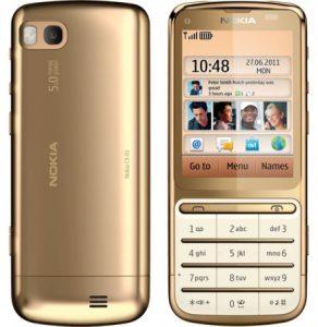 Nokia lanza el C3-01 Gold Edition
