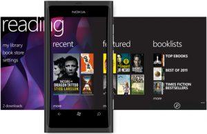 Nokia ofrece una experiencia de lectura de libros electrónicos en dispositivos Lumia a través de Nokia Reading