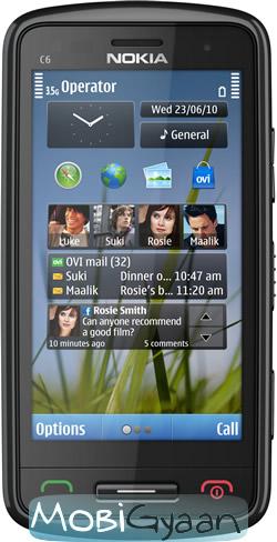 Nokia presenta C6 en el Nokia World