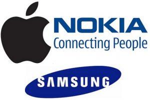 Nokia se une a Apple para prohibir los teléfonos Samsung