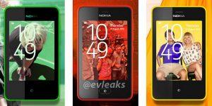 Nokia trabaja en un diseño simple de teléfono Asha