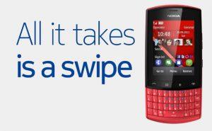Nokia trae nuevos gestos de deslizamiento a los teléfonos con funciones S40