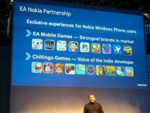 Nokia y EA traerán algunos juegos exclusivos a Windows Phone
