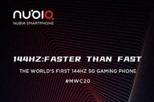 Nubia lanzará Red Magic 5G en el Mobile World Congress 2020