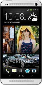 Nueva imagen de HTC One (M7) con fugas de Sense 5.0