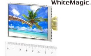 Nueva pantalla móvil WhiteMagic de Sony