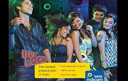 Nuevo Let's Rock prepago de Tata Indicom para Maharashtra
