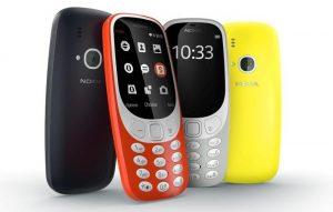 Presentación de la versión moderna del Nokia 3310 con pantalla a color de 2,4 pulgadas y cámara de 2 MP
