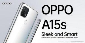 OPPO A15 con tecnología MediaTek Helio P35 y 4 GB de RAM lanzados en India