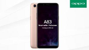 OPPO A83 se lanzará a finales de esta semana en India con un precio informado de ₹ 13,990