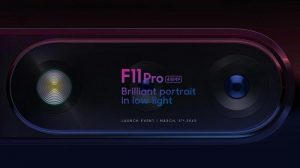 OPPO F11 Pro con cámara trasera de 48 MP que se lanzará en India el 5 de marzo