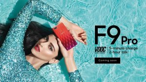OPPO F9 Pro con VOOC Flash Charge y diseño de color degradado que se lanzará en India a fines de este mes