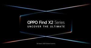 Se confirma el lanzamiento del teléfono inteligente OPPO Find X2 el 6 de marzo