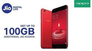 OPPO-Reliance Jio se une para ofrecer hasta 100 GB de datos 4G adicionales a los usuarios