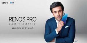 OPPO Reno3 Pro confirmado para lanzarse en India el 2 de marzo;  Especificaciones clave filtradas en línea