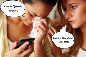 Obtenga menos tiempo de conversación en cada recarga, culpe al aumento del impuesto al servicio
