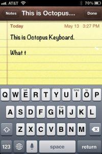 Octopus Keyboard es un teclado predictivo estilo BlackBerry 10 para tu iPhone