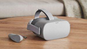 Oculus presenta Oculus Go, un visor de realidad virtual independiente que no necesita un teléfono inteligente