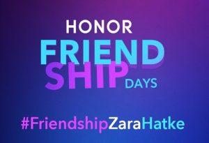 Oferta de los Días de la Amistad de Honor: obtenga teléfonos inteligentes Honor a precios atractivos