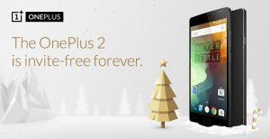 OnePlus 2 estará libre de invitaciones para siempre a partir del 5 de diciembre