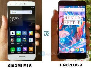OnePlus 3 vs Xiaomi Mi 5 - Comparación de cámaras