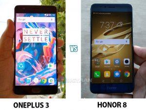 OnePlus 3 contra Honor 8 [Camera Comparison]