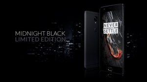La edición limitada de OnePlus 3T Midnight Black saldrá a la venta hoy en India