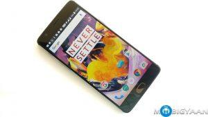 La variante OnePlus 3T Gunmetal de 128 GB saldrá a la venta en India mañana por ₹ 34,999