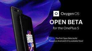 OnePlus 5 obtiene Android 8.0 Oreo con la actualización OxygenOS Open Beta 1