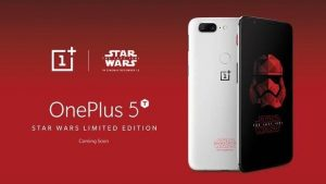 OnePlus 5T Star Wars Limited Edition anunciado