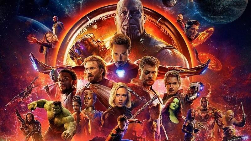 cartel de vengadores infinity war