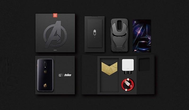 contenido-de-caja-de-edición-limitada-de-oneplus-6-marvel-avengers