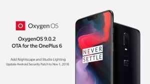 OnePlus 6 finalmente obtiene las funciones de la cámara OnePlus 6T con la actualización OxygenOS 9.0.2