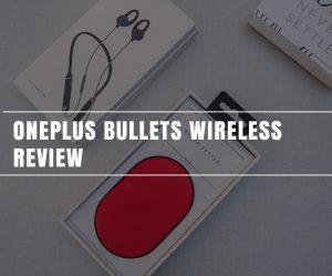 Revisión inalámbrica de OnePlus Bullets