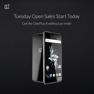 OnePlus X para ir gratis todos los martes