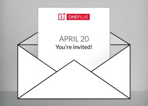 OnePlus celebrará un evento el 20 de abril, ¿llegará un nuevo teléfono inteligente?