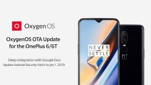 OnePlus lanza OxygenOS 9.0.4 y 9.0.12 para OnePlus 6 y 6T