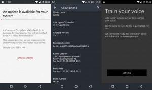 """OnePlus reanuda el lanzamiento de Cyanogen OS 12 con la función """"Ok OnePlus"""""""