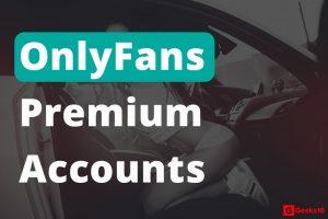 Cuentas y contraseñas premium de OnlyFans GRATIS 2021 (en funcionamiento)