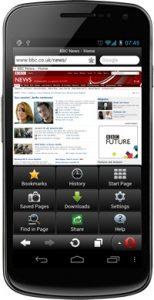 Opera Mini 7 ahora disponible para todos los dispositivos Android